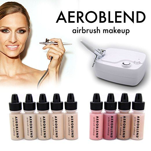 Aeroblend Airbrush Makeup Kit 1