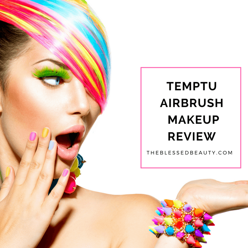 Temptu Airbrush makeup kit review