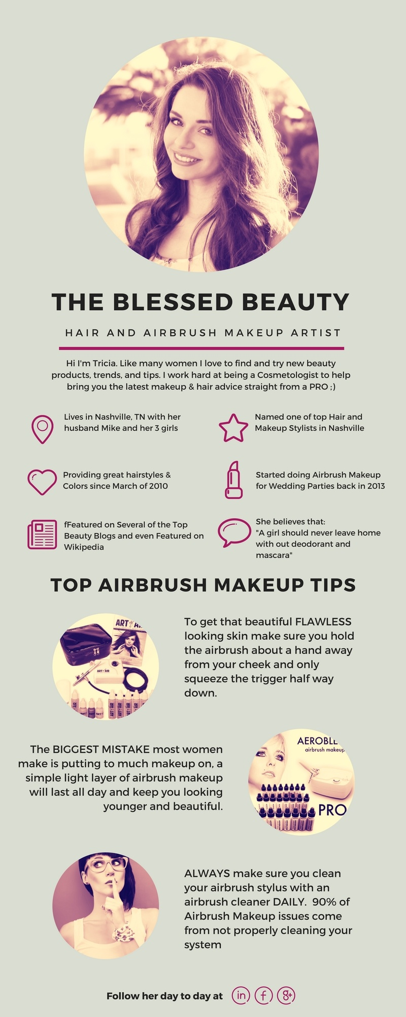 Airbrush makeup Tips and tutorials