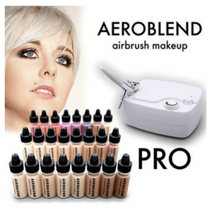 aeroblend pro airbrush makeup kit review - 300