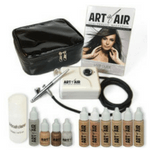 art of air airbrush makeup kit review - 150