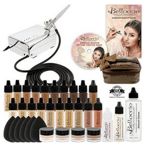 belloccio airbrush makeup kit review - 300