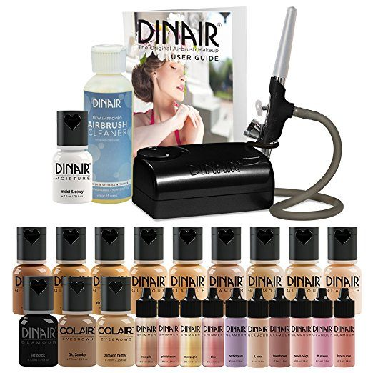 dinair airbrush makeup review