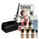 dinair airbrush makeup kit review - 150