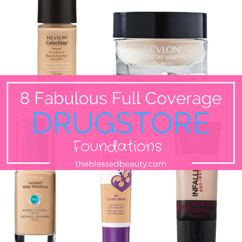 fabulous full coverage drugstore foundations