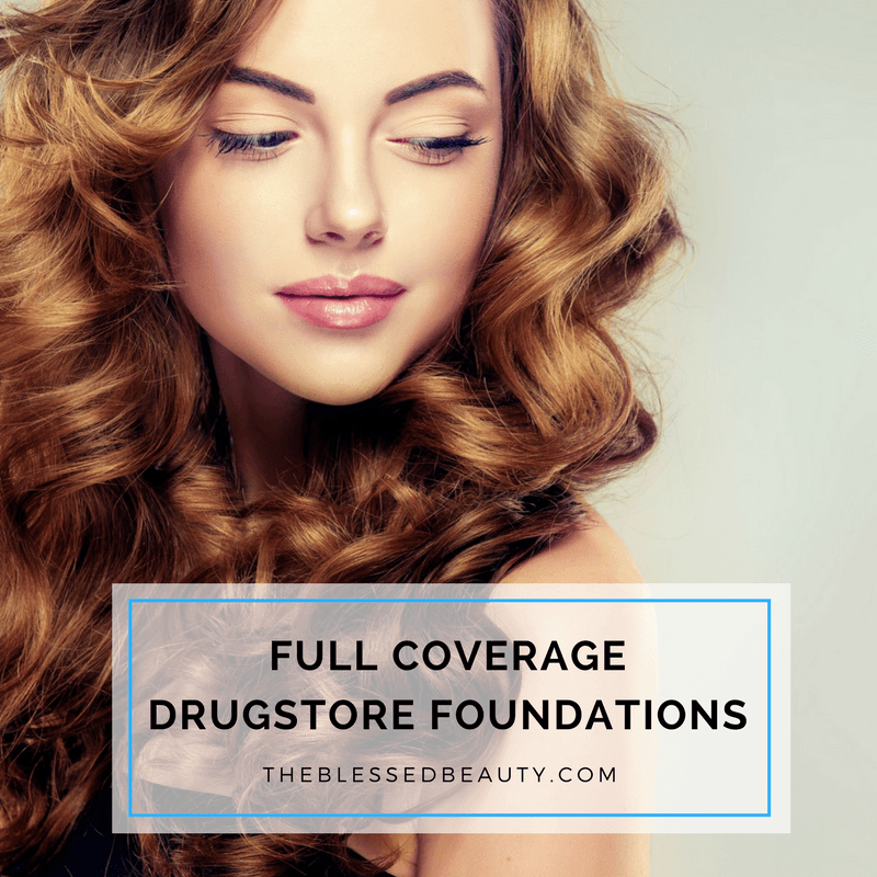drugstore full coverage foundations