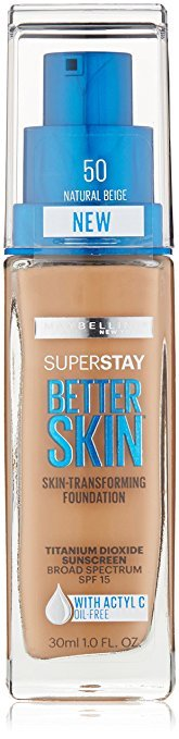 maybelline super stay long lasting foundation