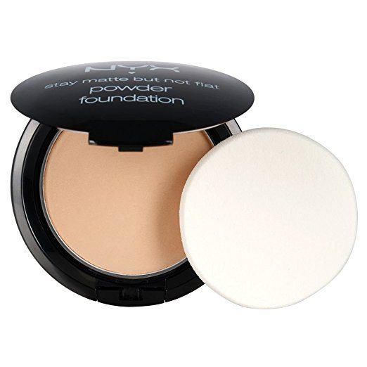 nyx stay matte not flat powder foundation