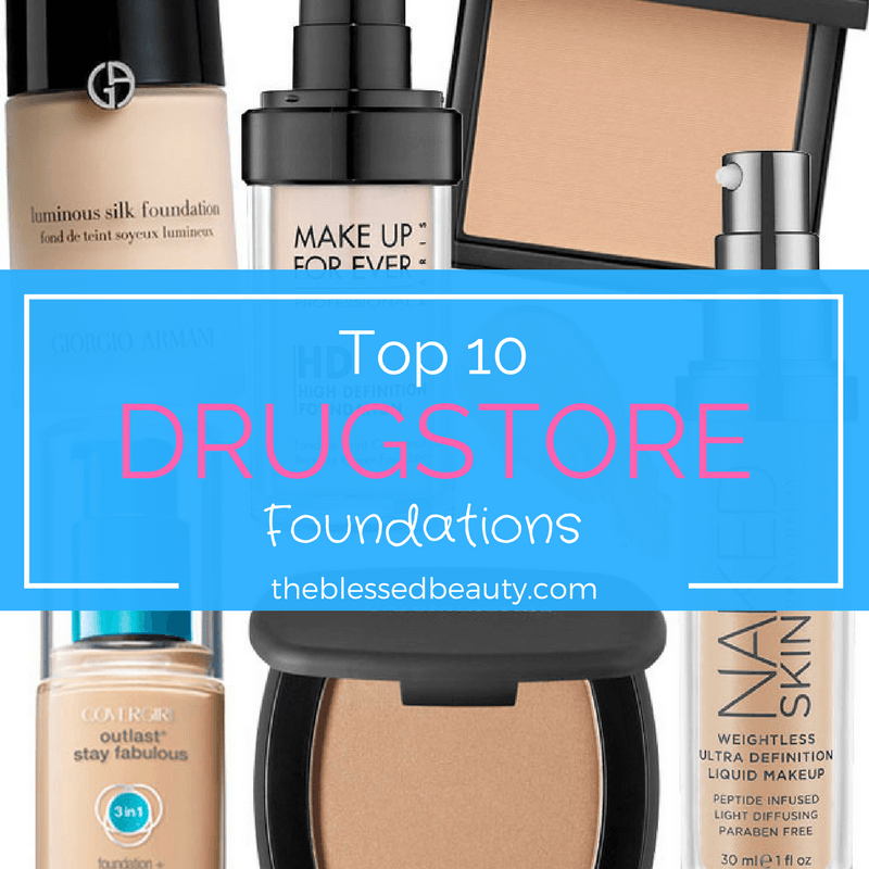 top 10 foundations to buy