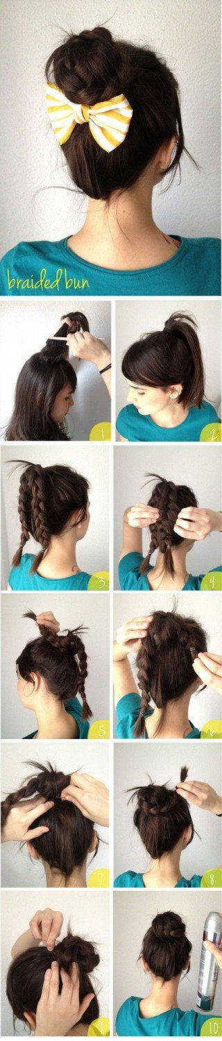Cute-and-Easy-Hairstyle-Tutorials