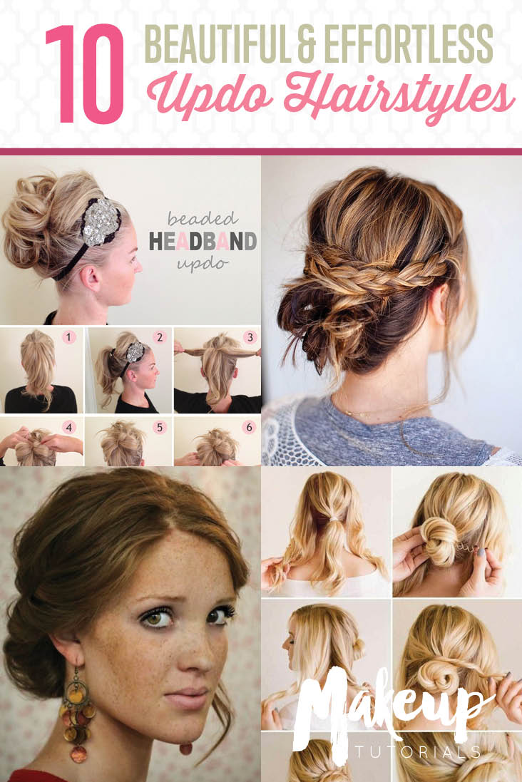 Effortless Updo Hairstyles