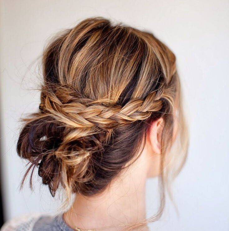 Medium-Length Hair Updo Hairstyle Tutorials